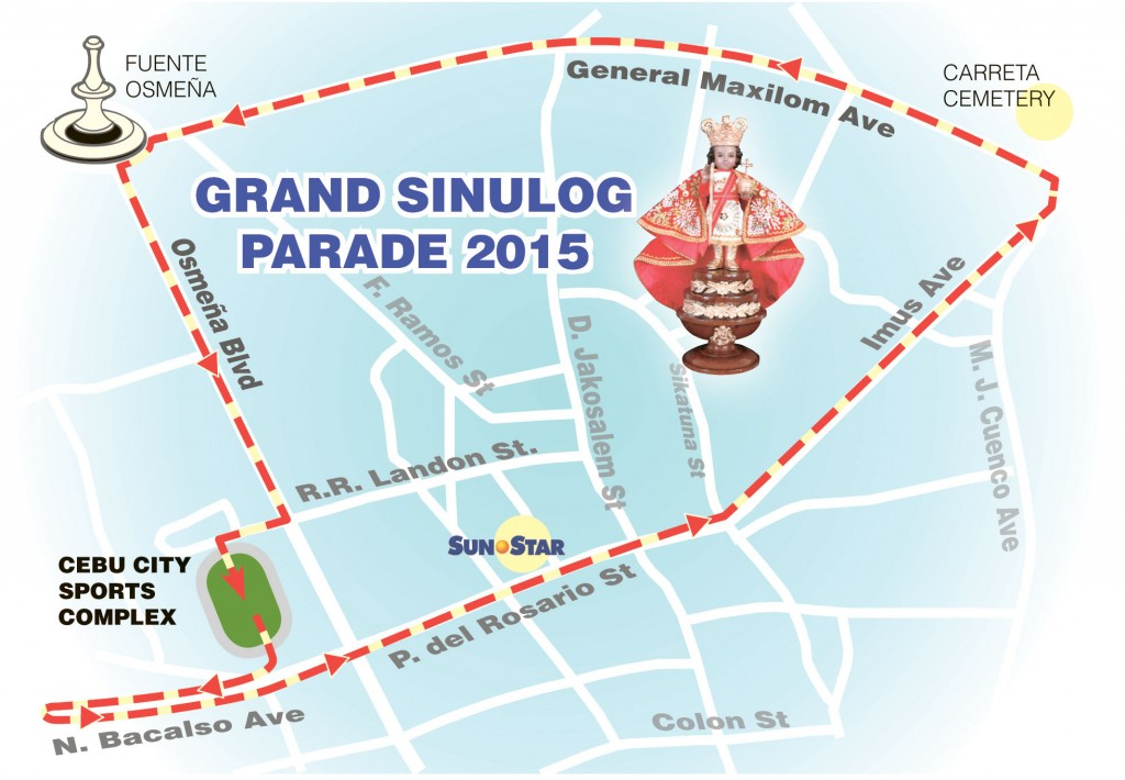 Sinulog Grand Parade 2015