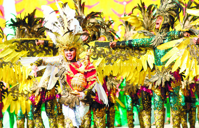 LUMAD. After placing second in the free interpretation category in last Sunday's Sinulog, the Lumad Basakanon will join again the Aliwan Festival in Pasay City. (Sun.Star Photo/Amper Campana)