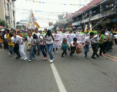 Sinulog body to improve crowd control